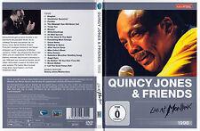 Quincy Jones & Friends - DVD - Live At Montreux 1996 - DVD von 2011 - Neuwertig