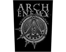 OFFICIAL LICENSED - ARCH ENEMY - ILLUMINATI SEW ON BACK PATCH DEATH METAL