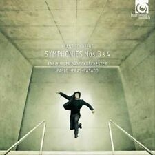Schubert: Symphonies Nos. 3 & 4 (CD, Jun-2013, Harmonia Mundi (Distributor))