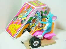 Marx 5157 Tom & Jerry Zoom Cycle Trike Motorcycle 1973 RARE