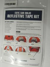 EXFIL SAR SOLAS REFLECTIVE TAPE KIT FOR TEAM WENDY TACTICAL HELMET COAST GUARD