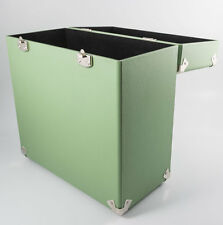GPO 12 Inch Vinyl Case Retro Record Box BNIB Designer Gifts Green