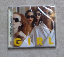 "CD AUDIO MUSIQUE / PHARELL WILLIAMS ""GIRL"" 10T CD ALBUM 2014 NEUF SCELLÉ POP"