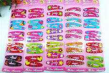 100 pcs(50pairs) assorted Girl Baby Dancing hairpins Hair Clips FOR KIDS!!  H-3