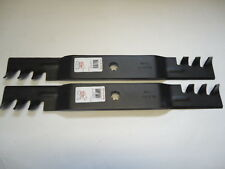 """2 Mulching Blades 42"""" John Deere AM137333 GX22151 GY20850 D100 D110 LA125 LA135"""