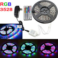 New 5M 12V Waterproof 300 LED RGB Strip Light 3528SMD Ribbon Car String Flexible