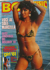 BOY MUSIC 29 1981 Marcella Bella PFM The Jam Alice Kate Jackson Discoboy