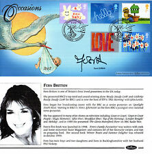 5 MARCH 2002 OCCASIONS BENHAM FIRST DAY COVER SIGNED FERN BRITTON