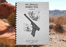 COLT CHALLENGER 22 Cal Automatic Pistol Owners Manual