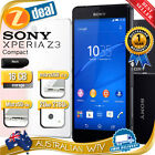 SONY XPERIA Z3 COMPACT D5833 4G LTE UNLOCKED BLACK + 12MTH AUS WTY (SEALED BOX)
