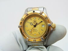 Tag Heuer 2000 Professional Two-tone Ladies Watch Swiss 964.008 New Battery