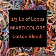 COTTON BLEND POTHOLDER LOOPS~MANY COLORS~FREE PATTERNS