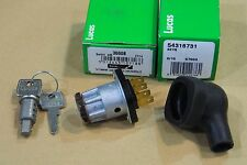 GENUINE LUCAS IGNITION SWITCH TRIUMPH T90 T100 T120 T140 T150 WITH RUBBER BOOT