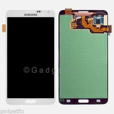 White Samsung Galaxy Note 3 N9000 N900A N900T LCD Display Touch Screen Digitizer