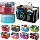 Lady Women Insert Handbag Organiser Purse Large liner Organizer Bag Tidy Travel