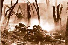 WW1 - Guerre 14/18 - Mitrailleurs américains du 23ème RI en 1917