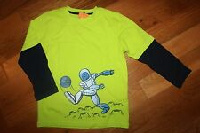 NWT Gymboree Star Brights Size 5T Green Alien Monster Kicking Earth Shirt Top