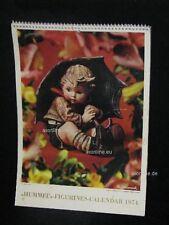 "Goebel Hummel Kalender Calendar 1974, USA-Version, Titelbild ""Umbrella Boy"""