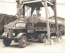 1950s WC-22 WHITE - SCHWERMAN Trucking Co. CEMENT BULKER , 8x10 B&W GLOSSY PHOTO
