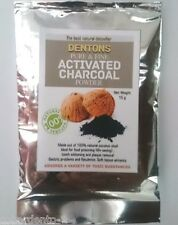 Organic activated charcoal powder for natural teeth whitening & stain remover