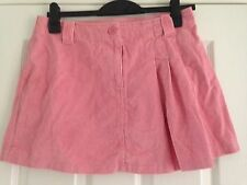 BNWT NEXT Ladies Pink Cord Skirt Size 14