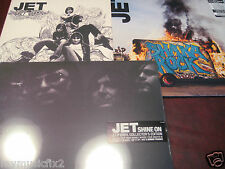 JET GET BORN Sealed White Vinyl + SHINE ON & SHAKA original releases 5 LP+CD SET