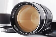 """Exc+++++"" Canon 100mm F/2 MF Lens for Leica Screw Mount LTM L39 From Japan A717"