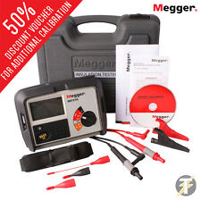 Megger MIT310 Insulation and Continuity Tester, Test Lead and Crocodile Clip Set