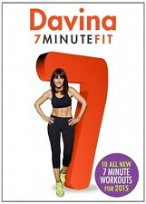 Davina 7 Minute Fit - Fitness Workout DVD - Brand New And Sealed - Region 2!!