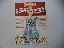 advertising Pubblicità 1962 FRIZZINA STAR