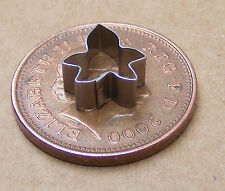 Metal Ivy Leaf Clay Cutter Dolls House Miniature Sugarcraft Accessory