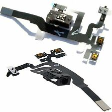 NEW Headphone Jack - Mute Switch - Volume Buttons Audio Flex Cable For iPhone 4S