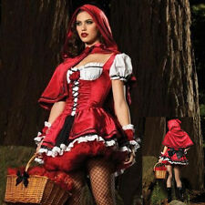 Little Red Riding Hood Fancy Dress Costume Women Costumes Party Sexy Cosplay