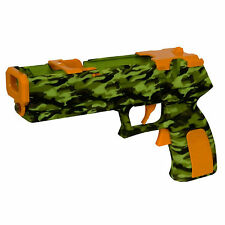 NEW Camoflauge Quick Shot Plus Light Gun for Shooting Games Nintendo Wii Wii U