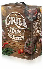 GRILL WINE SMOOTH RED SOUTH AFRICA WEIN 15 % Bag in Box 3 LITER