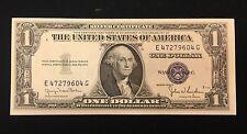 1935 D $1 Dollar Silver Certificate Note - Narrow Margin
