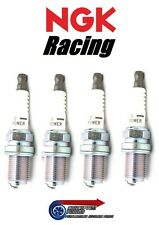 Set 4x Colder NGK V-Power Racing Spark Plugs HR7 For Mazda MX5 NA 89- B6ZE 1.6