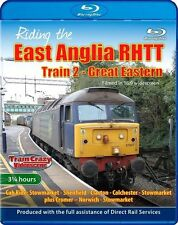 Riding the East Anglia RHTT Train 2 - Great Eastern.*Blu-ray (Cab ride,Class 57)