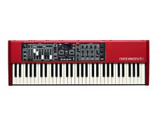 Nord Electro 5D 61 Stage Keyboard w Semi-weighted Note Action Keys PROAUDIOSTAR