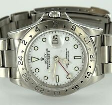 Rolex 16570 Oyster Perpetual Date Explorer II White Dial Stainless Steel Watch