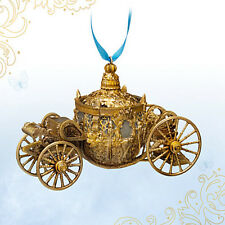 Disney Store CINDERELLA LIVE ACTION Collection Golden Coach Ornament New In Box