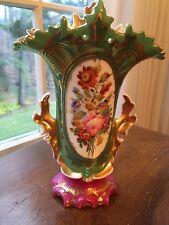 Old Paris Vieux Paris France hand-painted victorian porcelain vase