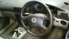 VW Passat B5 GREY 4 Spoke Steering Wheel with Airbag
