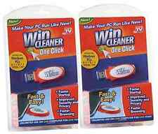 Win Cleaner As Seen on TV USB Computer PC Laptaps Clean Repair Protect-TWO PACK!