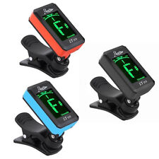 Rowin Acoustic Guitar Tuner Clip-On Digital Electronic LCD for Chromatic