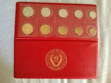 1974 RUSSIAN COIN SET LENINGRAD GOZNAK MINT PROOF SOFT PLASTIC VERY RARE