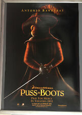 Cinema Poster: PUSS IN BOOTS 2011 (One Sheet Advance) Antonio Banderas