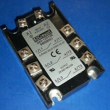CROUZET 4-32VDC CONTROL VOLTAGE 3-PHASE SOLID STATE RELAY GA3-12D10R *kjs*