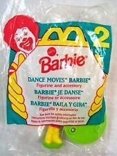 1994 Vintage McDonald's Happy Meal Mattel Barbie Dance Moves Barbie MIP C10!