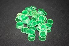 BINGO PAPER Cards, 100 Green Magnetic Chips, markers. no daubers  NEW